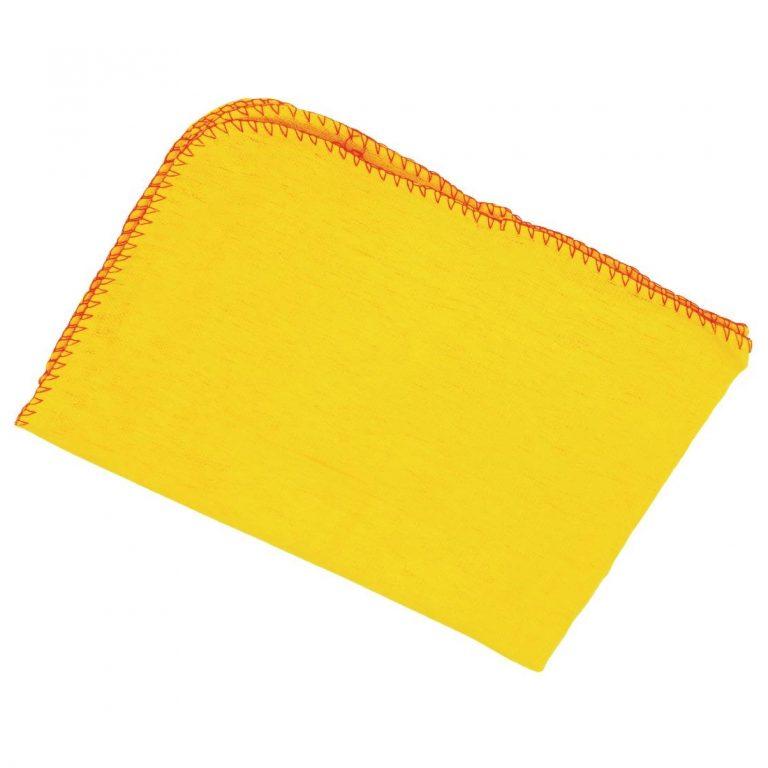 stofdoek geel final